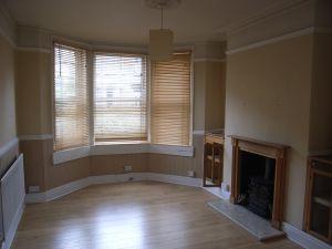 sitting room before refurbishment