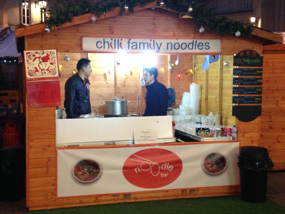 noodle bar chalet hut
