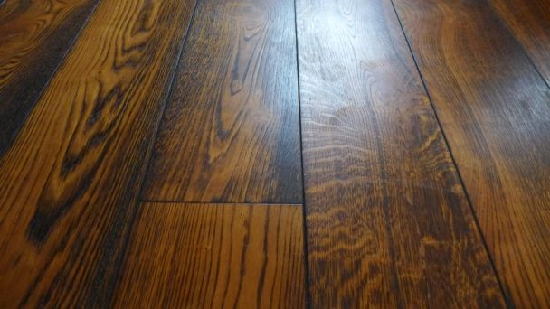 treated oak flooring