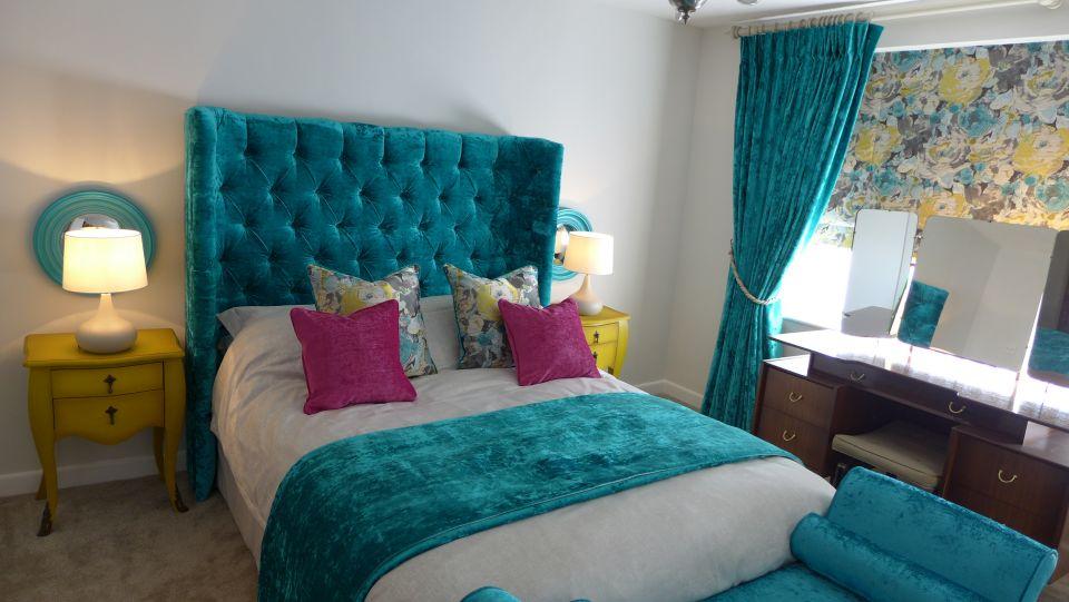 luxury bedroom fabrics