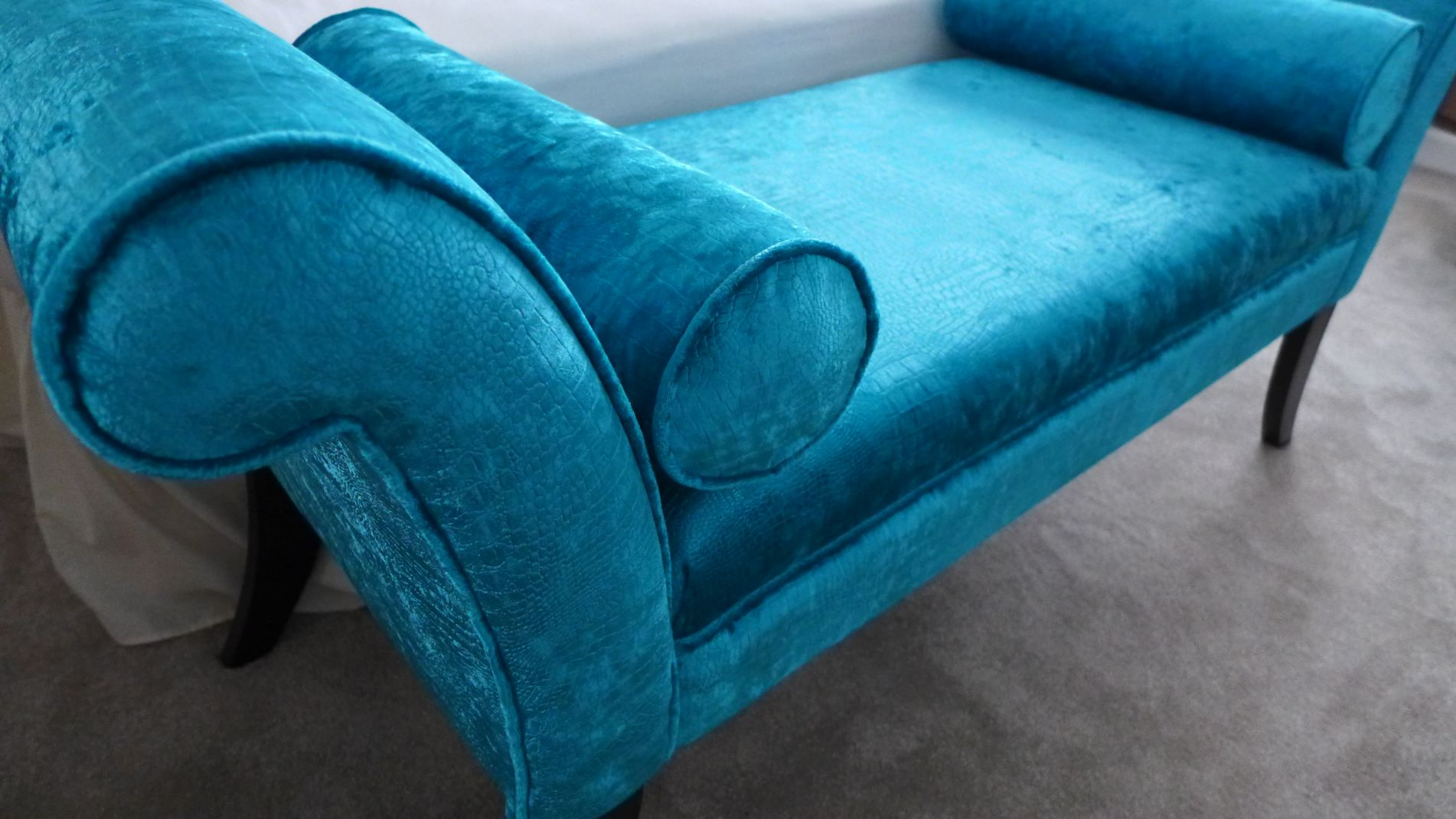 luxury chaise fabric