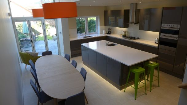 Kitchen Diner Extension Ideas.Kitchen Lighting And Electrics Style Within
