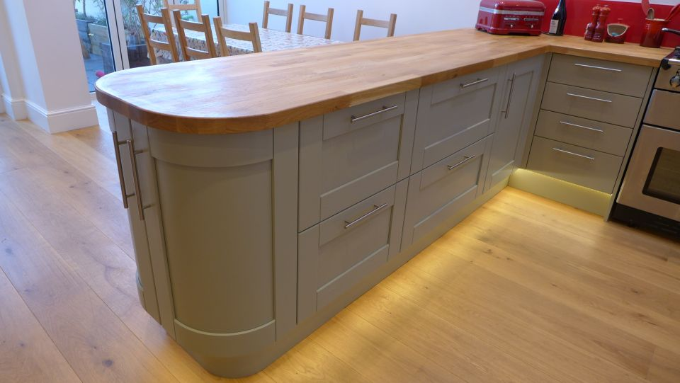 Flooring style within - Kitchen plinths ...