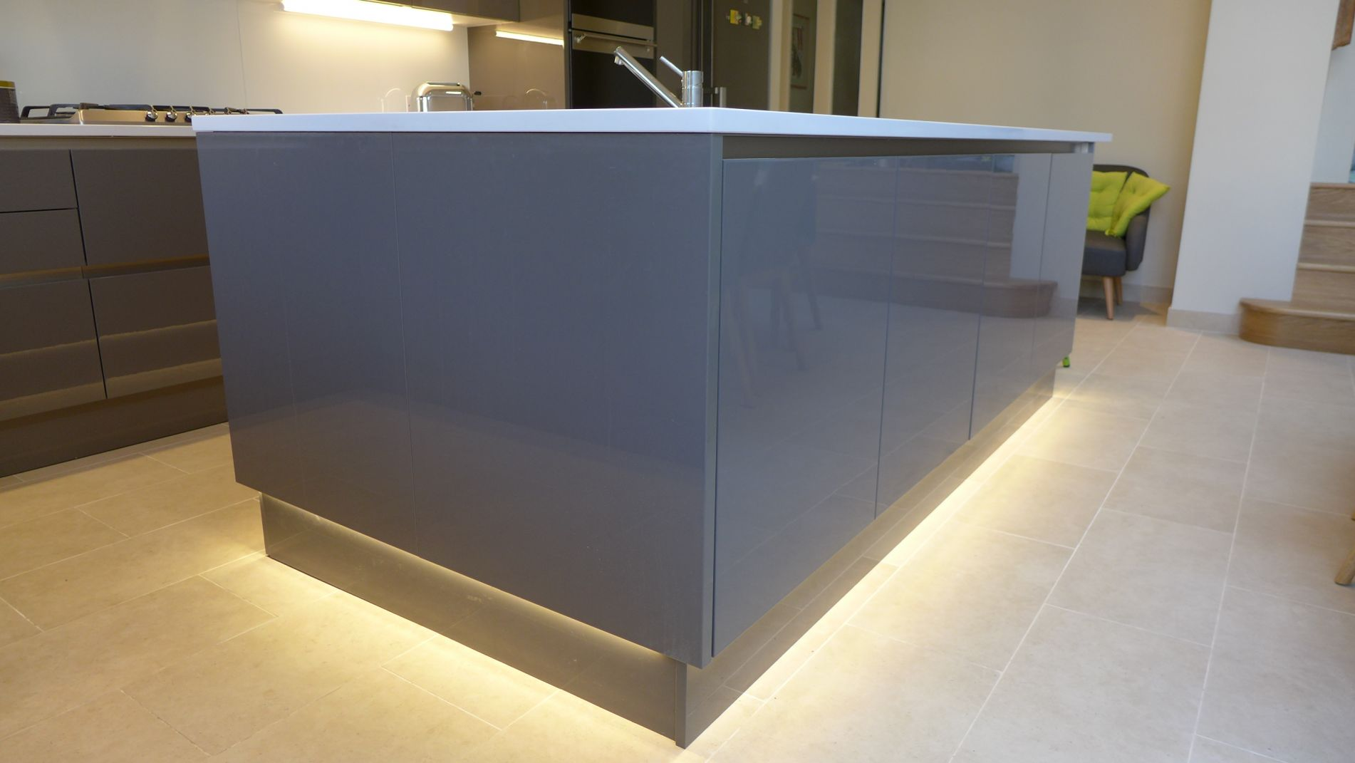 plinth-lighting-on-kitchen-island