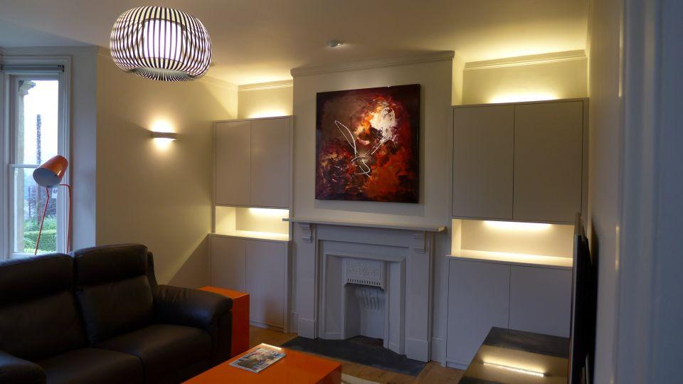 Lighting design forms a key part of our interior design service