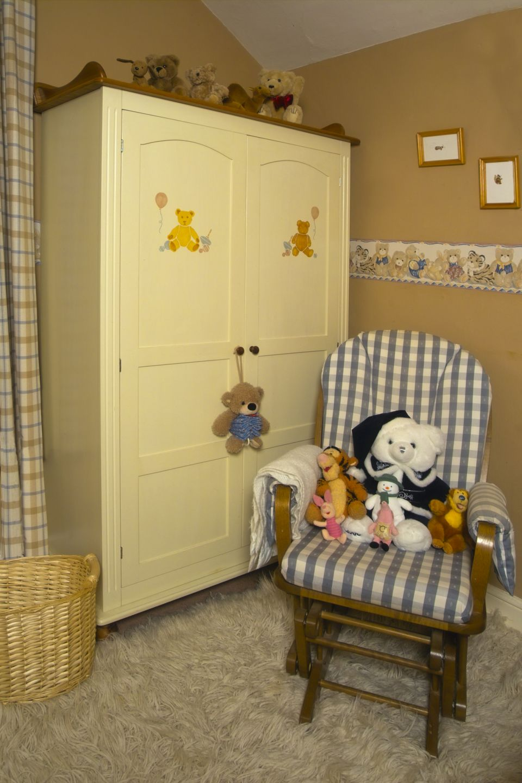infant child's bedroom or nursery