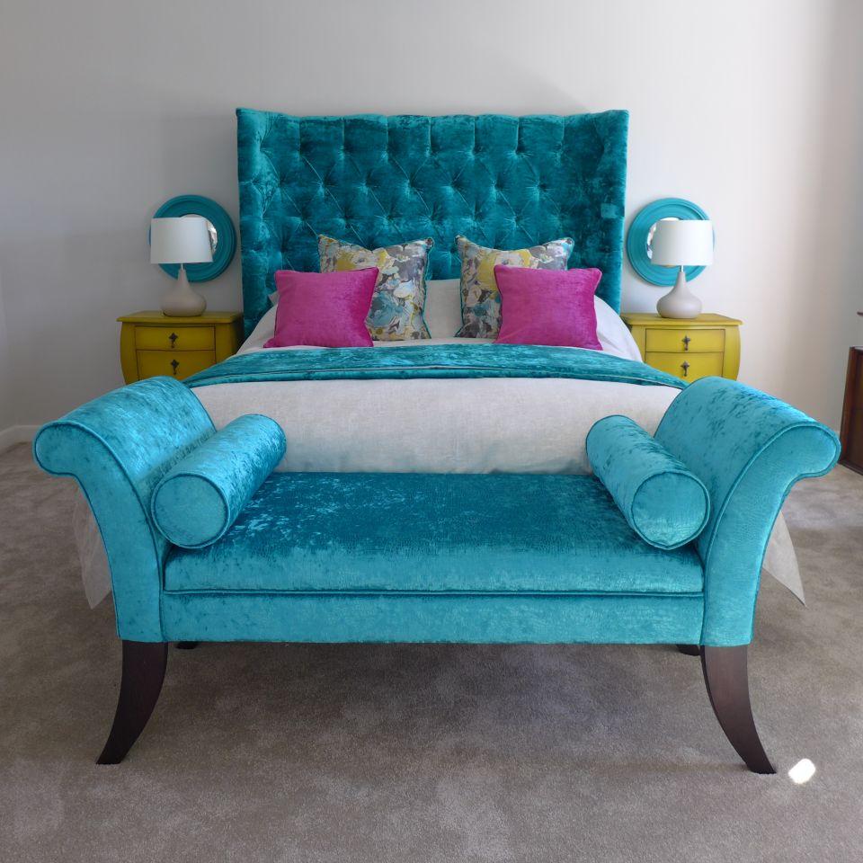 a Bath interior designer designed and installed this boutique bedroom