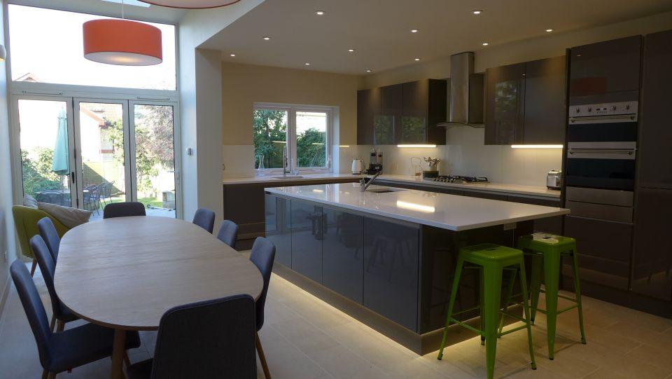 new kitchen diner in side return extension