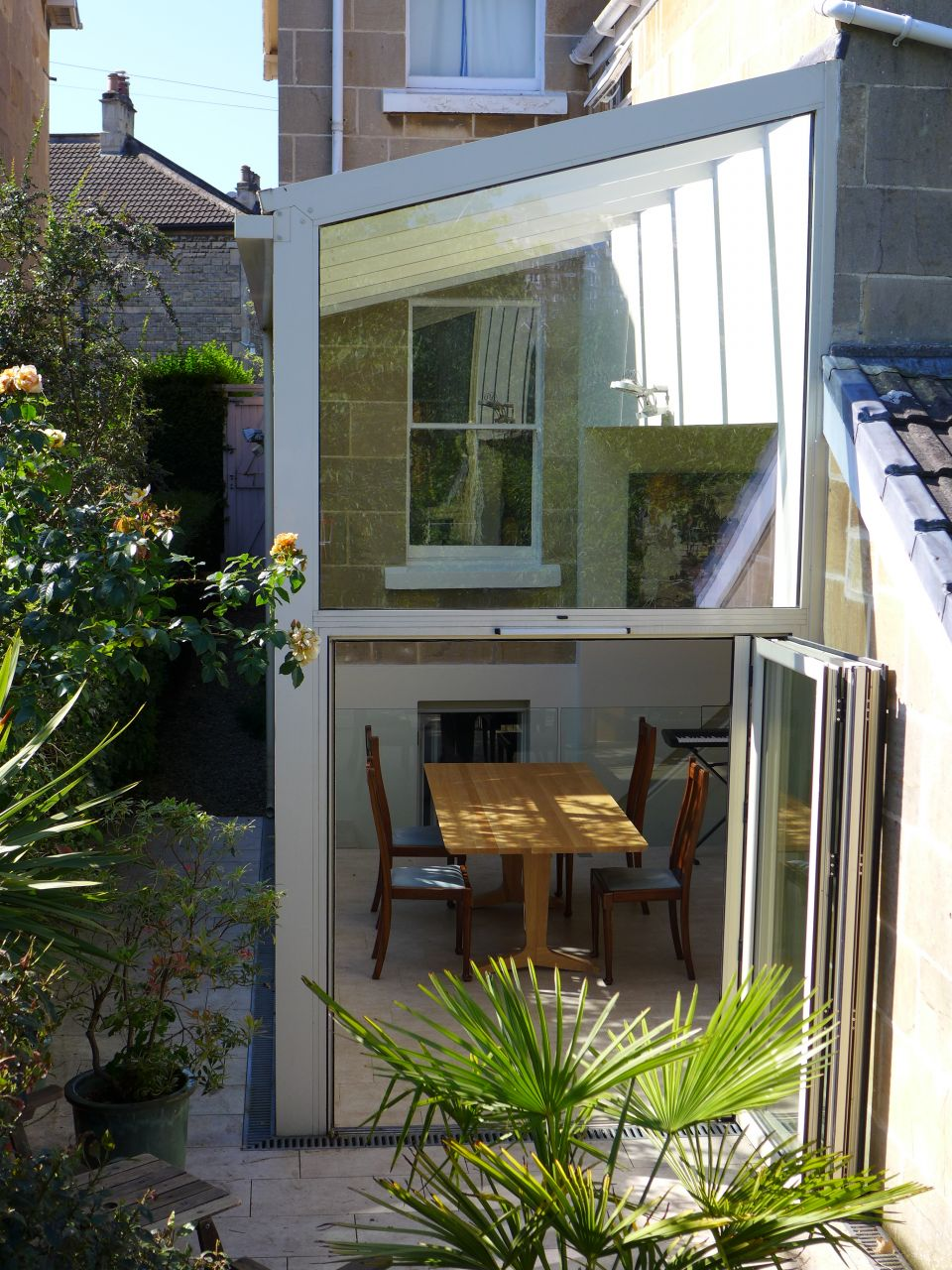 terrace glass extension