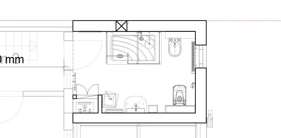 Bathroom Floor Plan