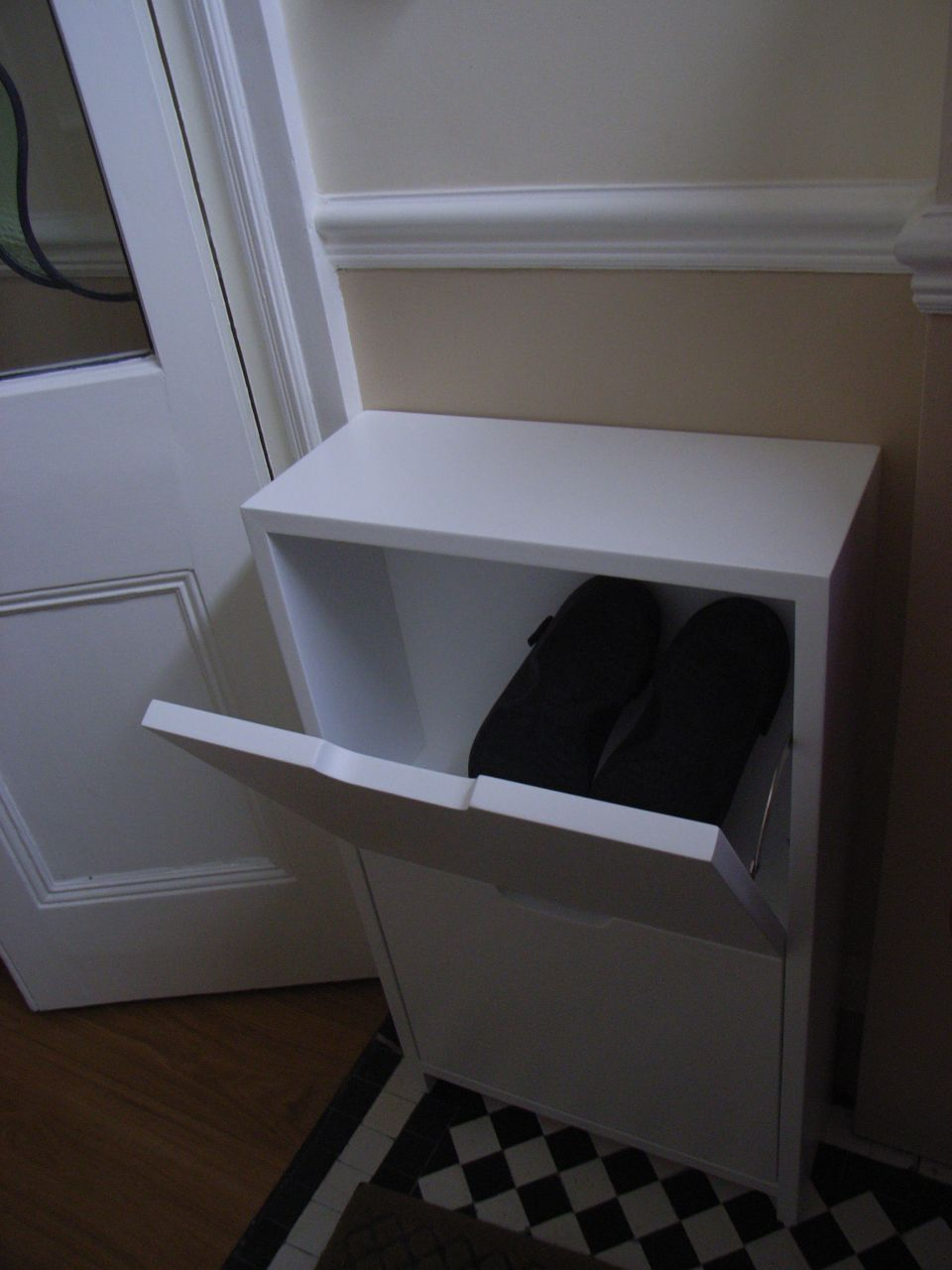 bespoke shoe storage unit