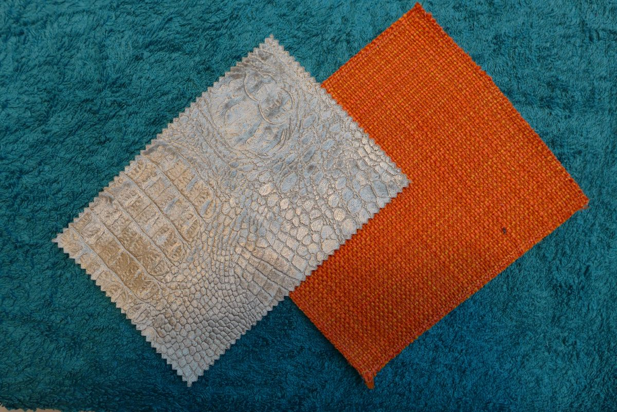 Marrs green tone with orange and neutral