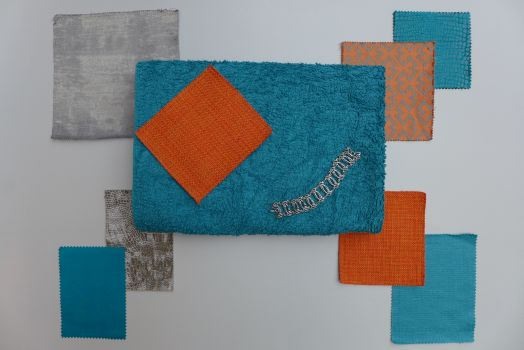 Teal and Orange Colour Scheme