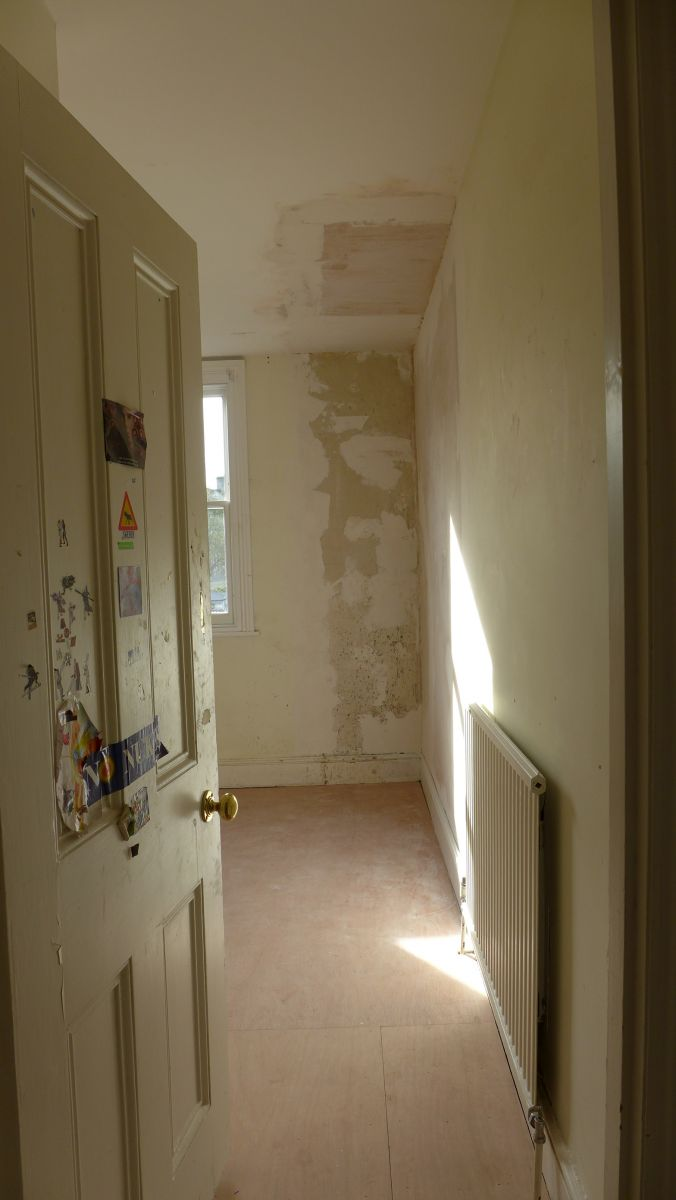 Chimney breast now removed