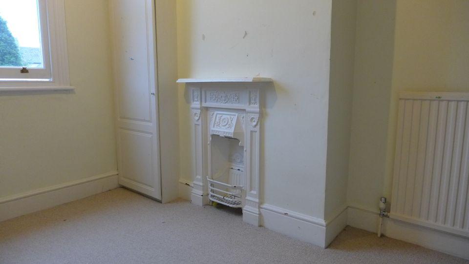 Fireplace in situ