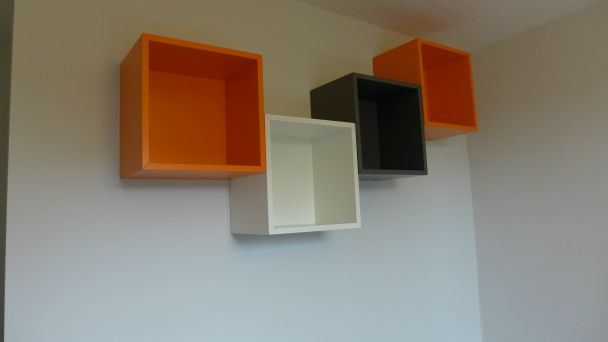 shelf cubes
