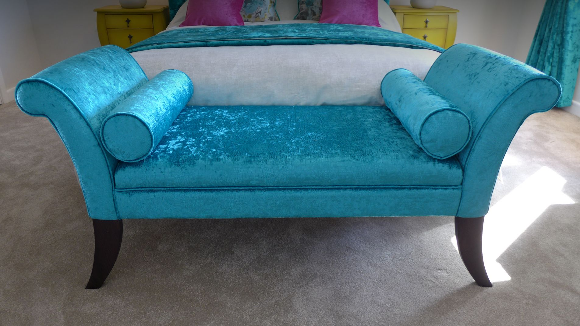 bed end chaise