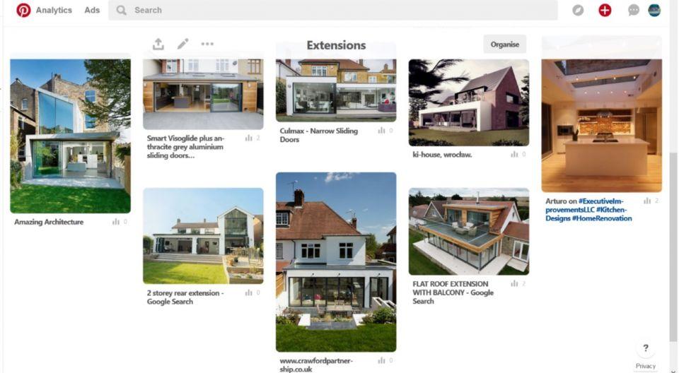 Pinterest Extensions