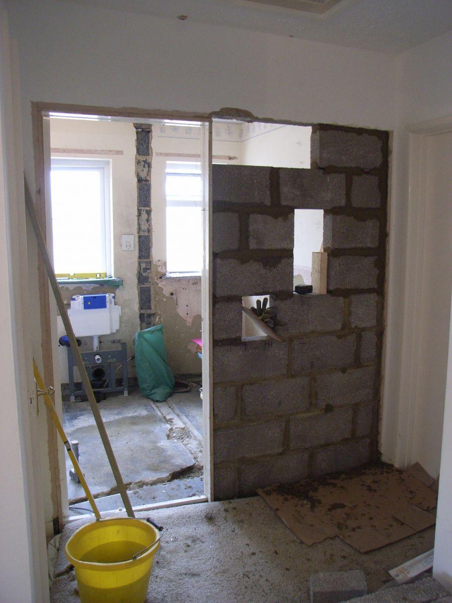 block up doorway