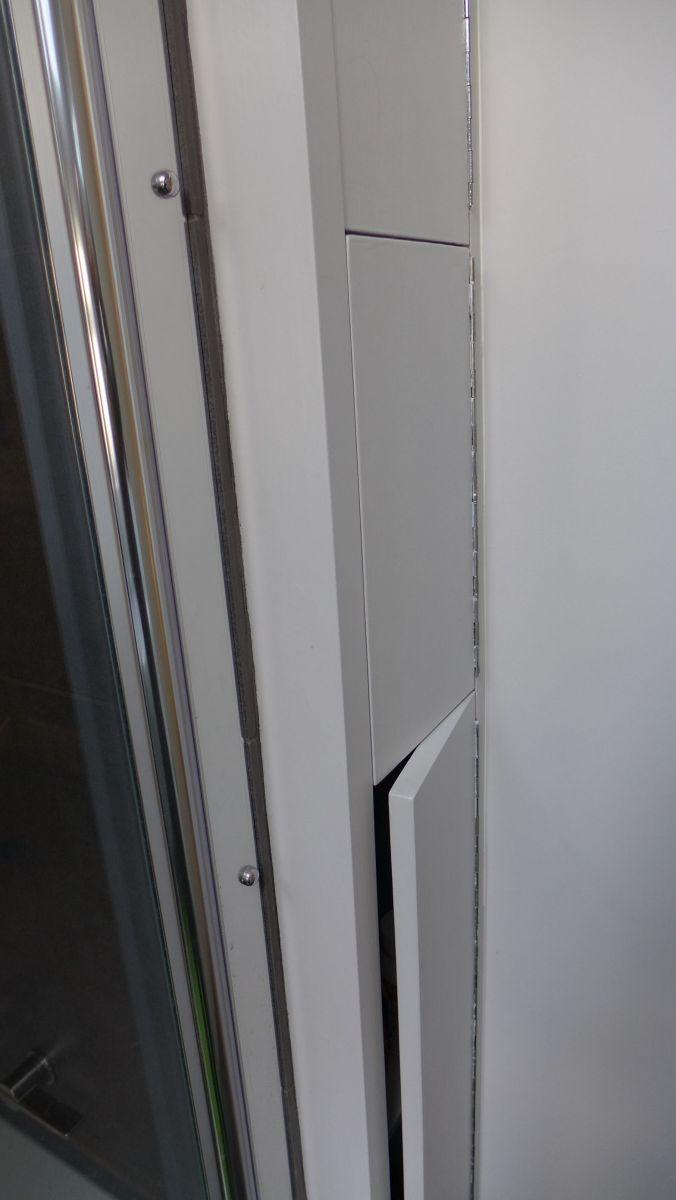 shower storage cupboard doors