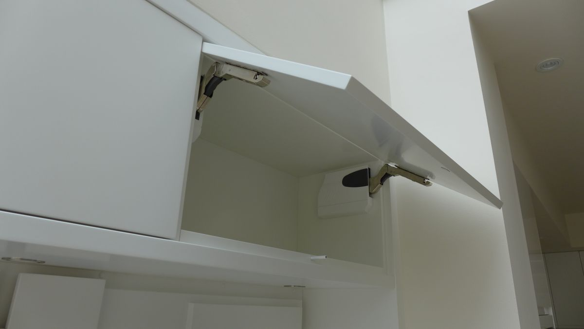 Top Opening Cabinet Style Within