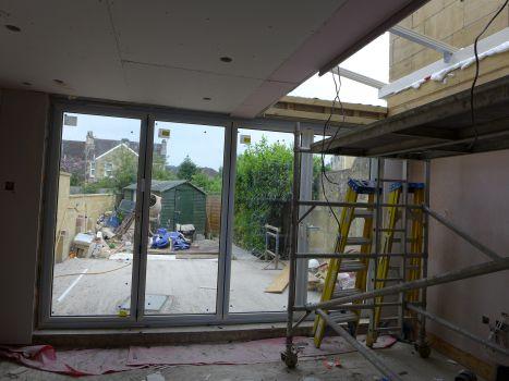 installing aluminium bifold doors