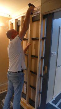 fitting a pocket door