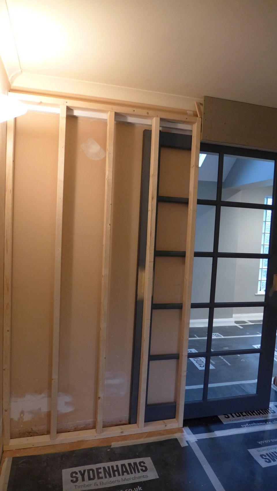 pocket door frame