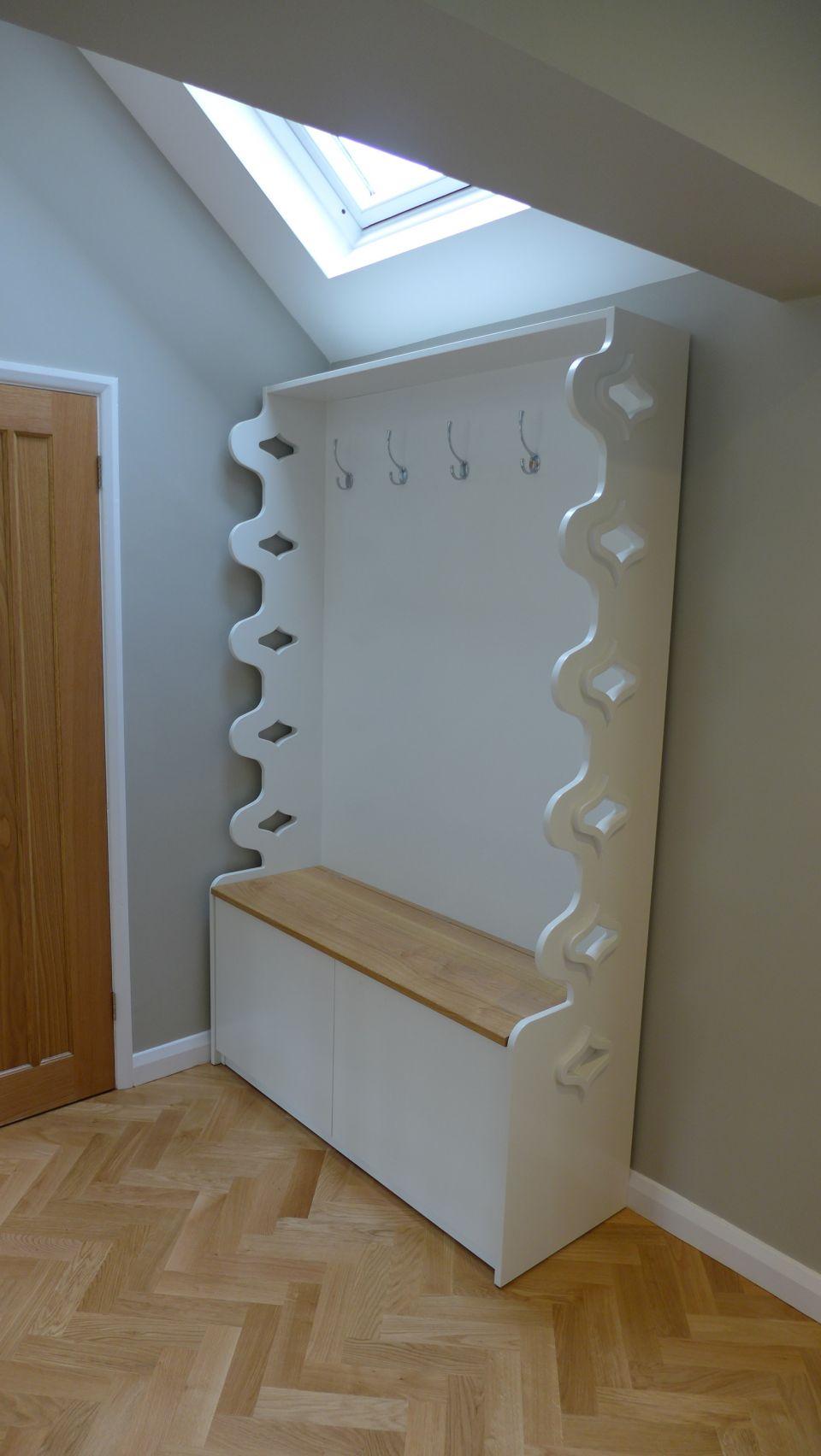 hall coat cabinet and storage