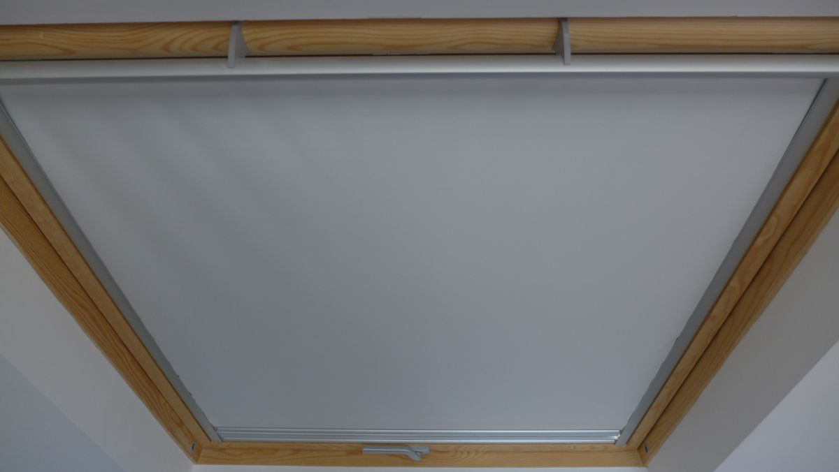 Velux with black out blind
